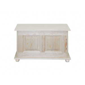 Chest solid, natural pine wood 181 – Dimensions 87 x 50 x 46 cm