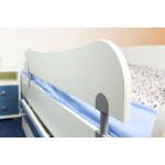 Bed rails protection for kid / youth bed Benjamin, Colour: white - dimensions: 29 x 120 cm (H x W)